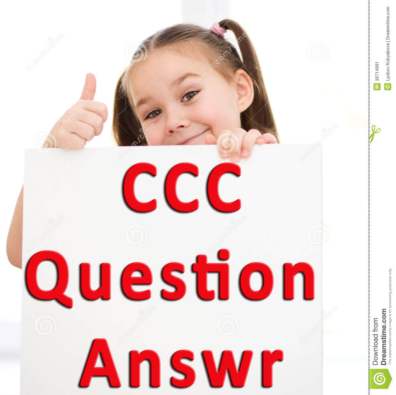 CCC Question Paper With Answer Set