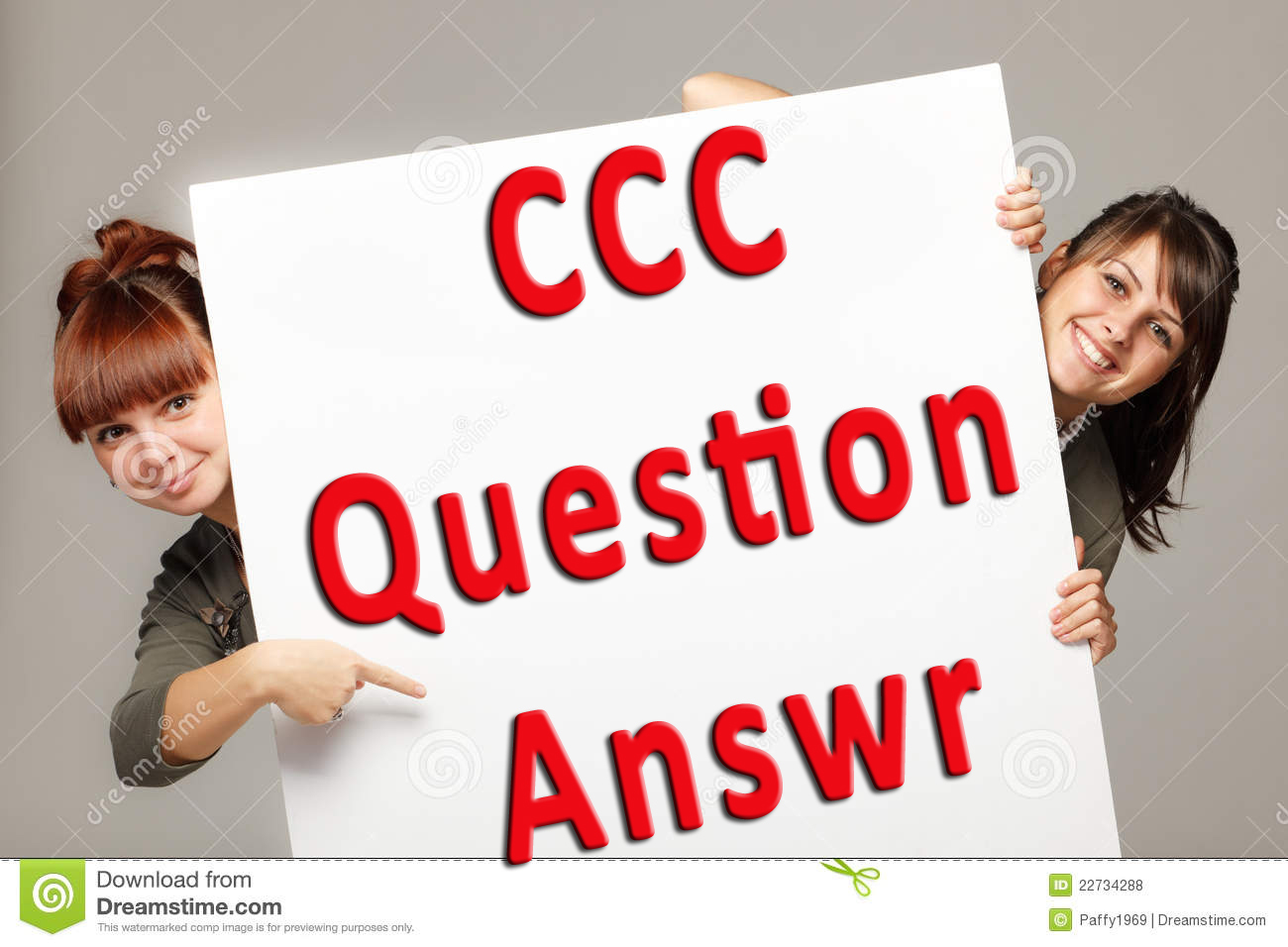 CCC Question Paper and Answer