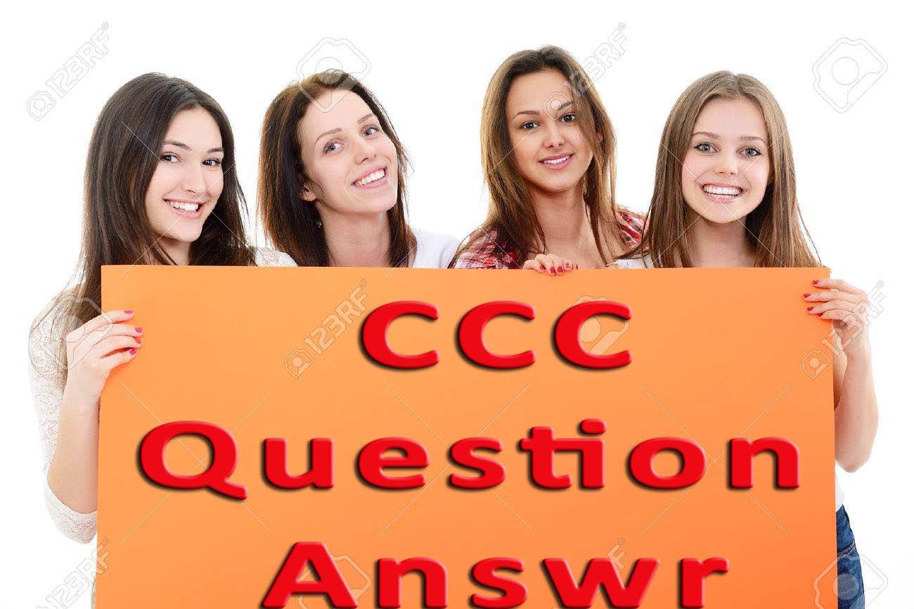 DOEACC CCC Practice Set Paper