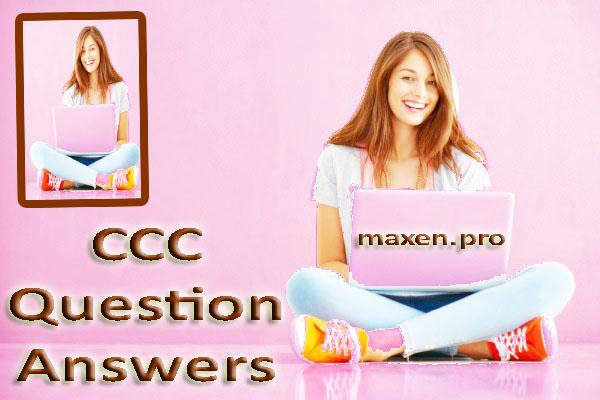 CCC Study Material Model Paper in Hindi