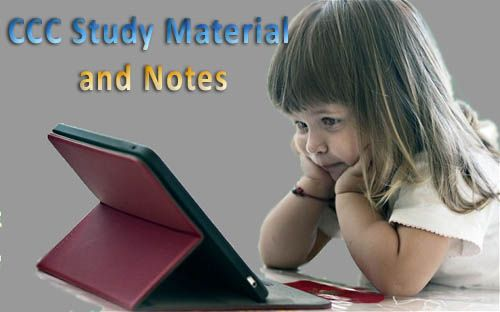 NIELIT DOEACC CCC Static RAM Study Material Notes in Hindi English