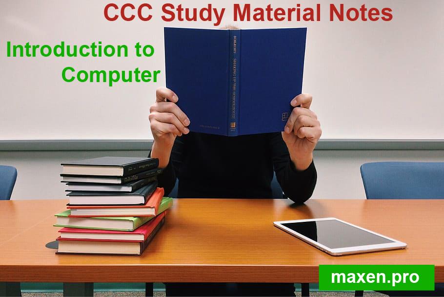 CCC Study Material NotesCCC Study Material Notes