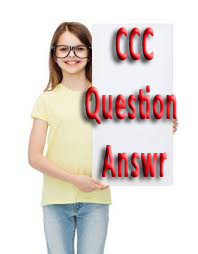 CCC Practice Set Question Answer Paper