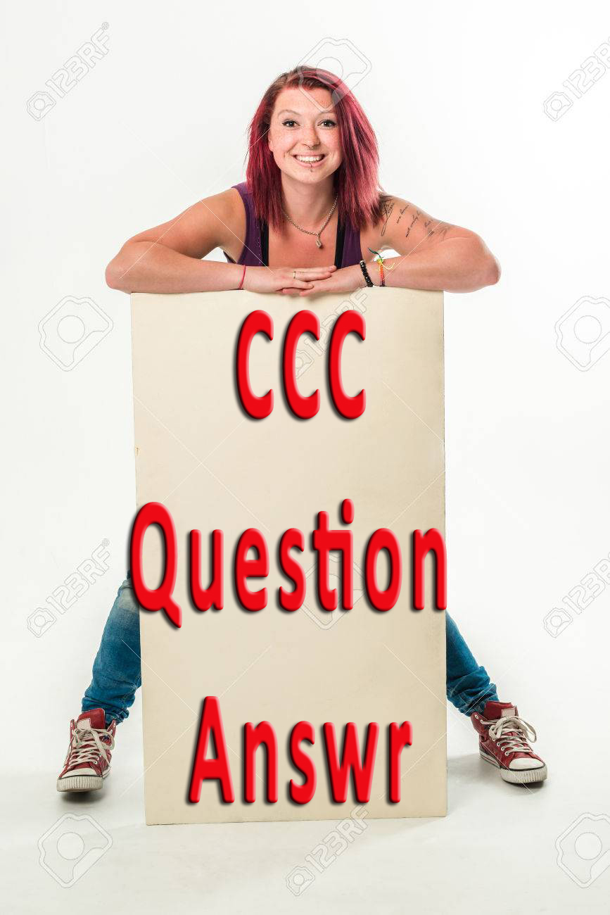 CCC Practice Set Question Answer