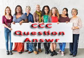 CCC Question Answer Paper
