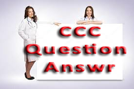CCC Question Answer Paper in PDF