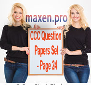 CCC Question Papers Set - Page 24