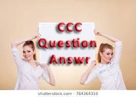 CCC Solved Sample Paper