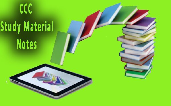 NIELIT DOEACC CCC Microsoft Excel 2007 Study Material Notes in Hindi English