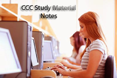 CCC Study Material Notes For Text Editor Paint Window Setting